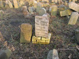 מצבתו של רבי שמערל ווארחיבקער, מחסידי ברסלב בברדיטשוב, סמוך לציונו של רבי לוי יצחק
